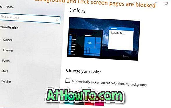 3 modi per nascondere pagine specifiche delle impostazioni App in Windows 10