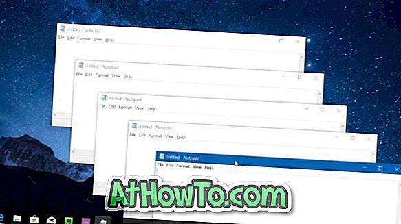 Einfache Möglichkeit, mehrere Instanzen eines Programms in Windows 10 zu öffnen