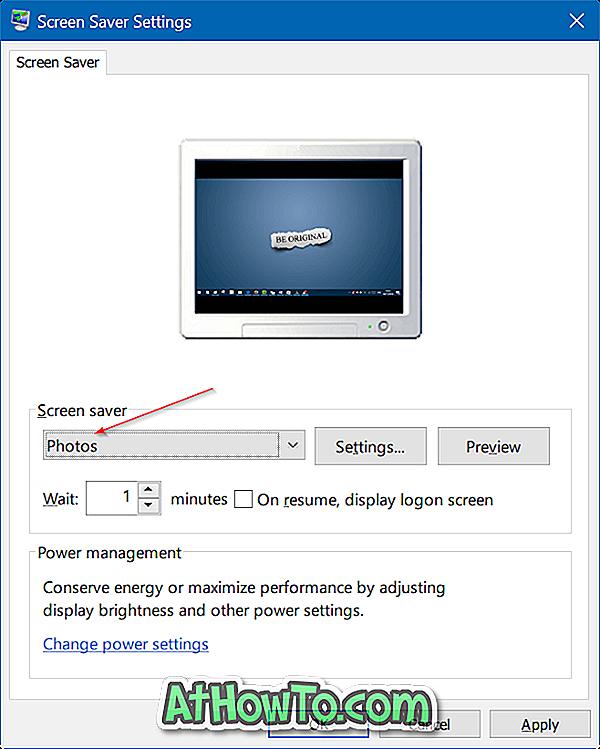 Windows 10でスクリーンセーバーとして写真を設定する方法