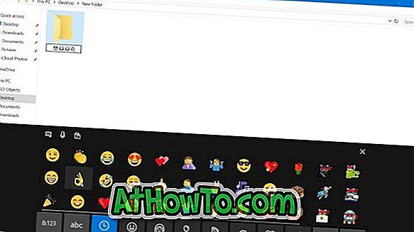 Як використовувати Emojis в іменах файлів і папок у Windows 10