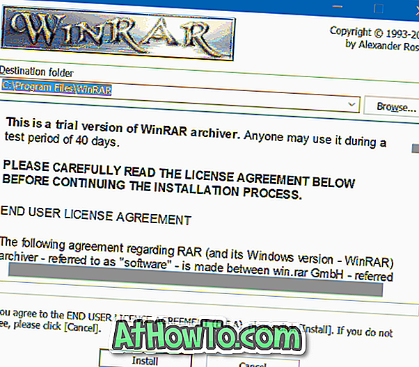 Download WinRAR til Windows 10