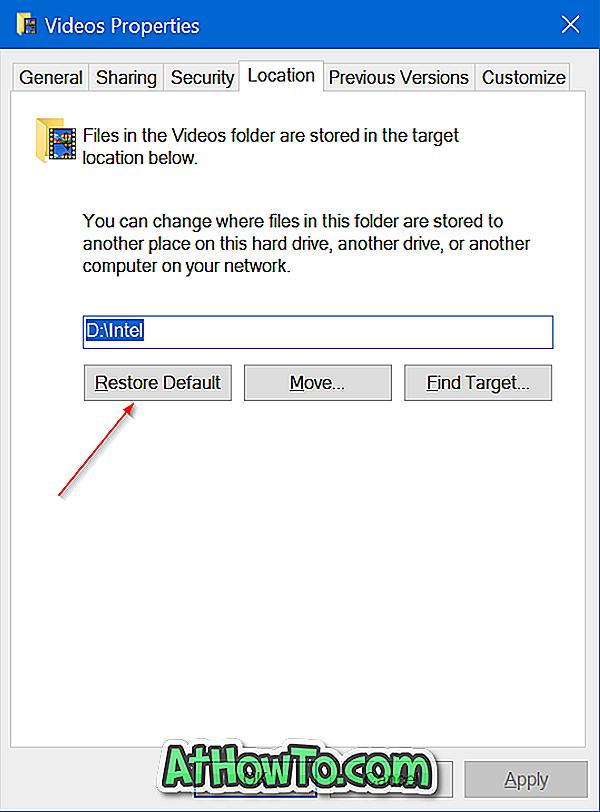 विंडोज 10 में गेम डीवीआर फोल्डर (कैप्चर) को कैसे बदलें