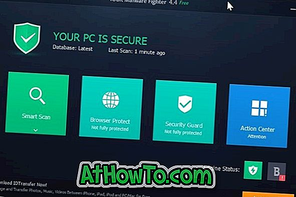 Lae IObit Malware Fighter tasuta Windows 10