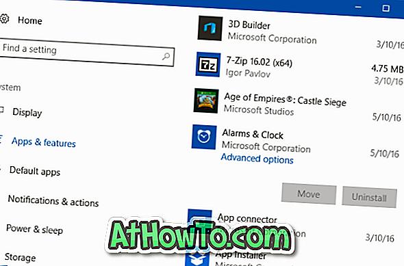 Usuń aplikacje wbudowane systemu Windows 10 bez PowerShell lub narzędzi innych firm