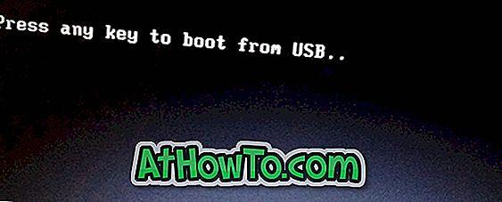 """Kā pievienot """"Nospiediet jebkuru taustiņu, lai sāktu no USB"""", lai sāktu Windows USB"""