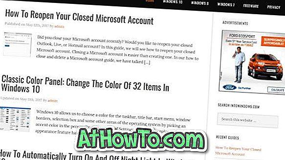 Как да отворите Edge & Други приложения в режим на цял екран В Windows 10