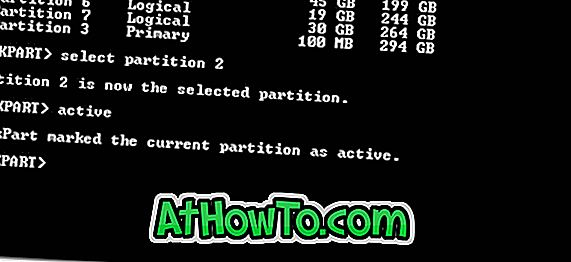 Jak zmienić Active Partition On Unbootable PC