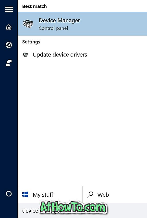 Sådan genoprettes tidligere version af en driver i Windows 10