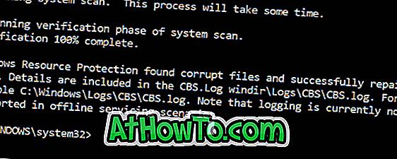 A sérült rendszerfájlok javítása a Windows 10 rendszerben