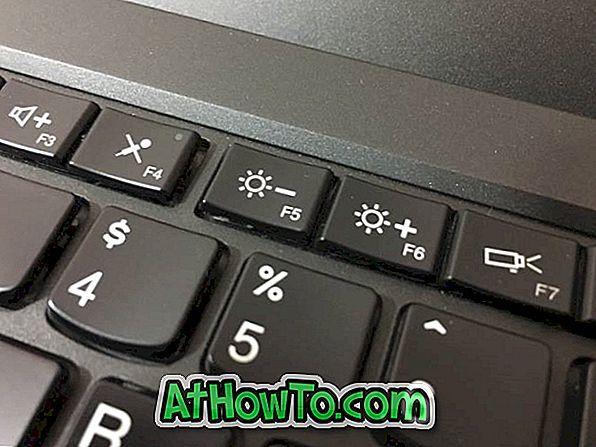 4 načina za nastavitev svetlosti zaslona v sistemu Windows 10