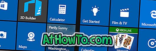 Fjern forudinstallerede Windows 10 Apps ved hjælp af Windows 10 App Remover