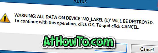 Cum se face Windows Bootable 10 USB fără Formatare