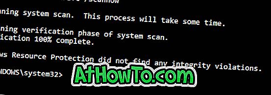 विंडोज 10 में भ्रष्ट या गुम फाइलों को सुधारने के लिए सिस्टम फाइल चेकर चलाएं