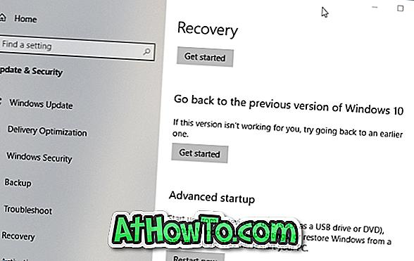 Zurück zur vorherigen Version von Windows 10 nach 10 Tagen