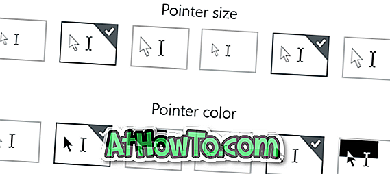 Sådan ændrer du musepekers størrelse og farve i Windows 10