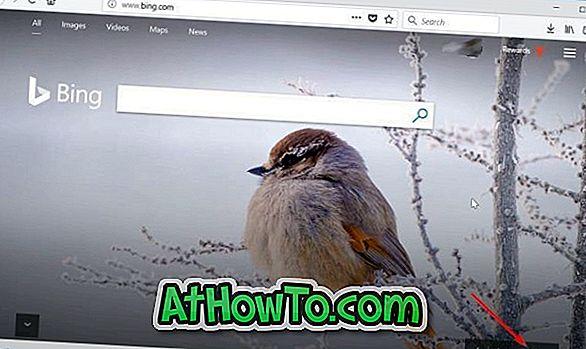 एक क्लिक के साथ विंडोज 10 के लिए बिंग एचडी वॉलपेपर डाउनलोड करें