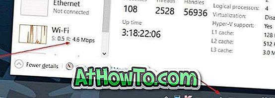 Odstráňte ikonu lietadla / letového režimu z panela úloh systému Windows 10.