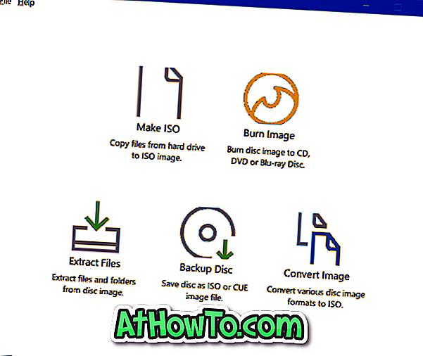 Oficina ISO: Criar, gravar e converter arquivos ISO