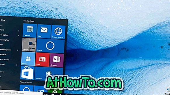 Sådan fjerner du mest brugte liste fra startmenuen i Windows 10