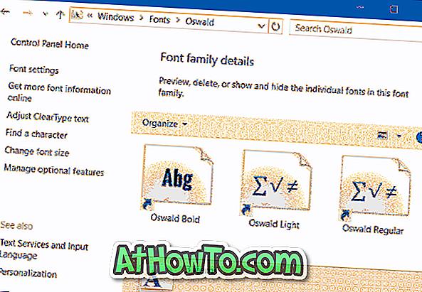 Cách cài đặt phông chữ dưới dạng phím tắt để tiết kiệm dung lượng trong Windows 10