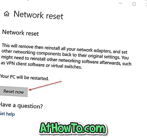 ネットワーク 設定 を リセット