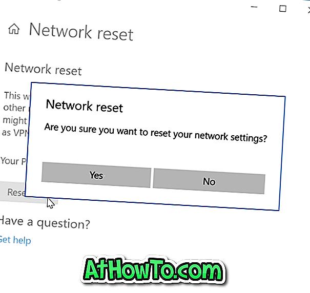So setzen Sie die Netzwerkeinstellungen in Windows 10 zurück