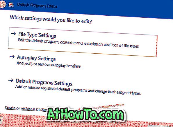 Как да архивирате и възстановявате асоциации на файлове в Windows 10