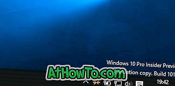 Sådan fjerner vandmærke fra Windows 10 Desktop