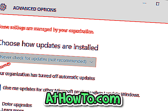 So deaktivieren Sie automatische Updates in Windows 10 mithilfe der Registrierung