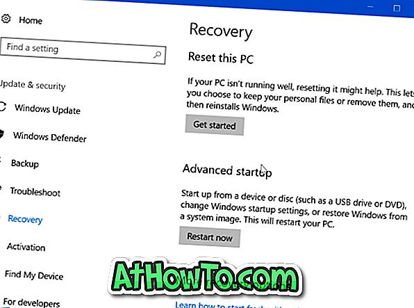 Hvornår skal du bruge Windows 10 Recovery Options