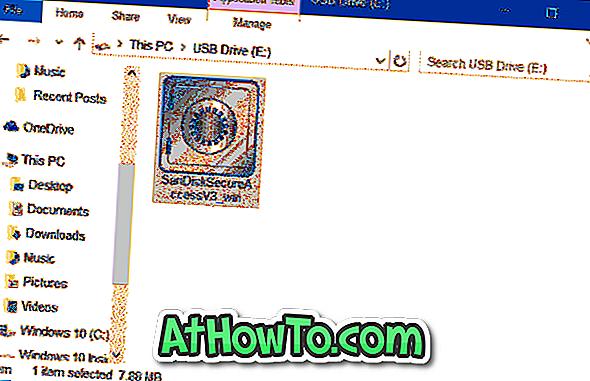 Passwortschutz von Dateien / Ordnern auf dem SanDisk USB-Laufwerk [Free]