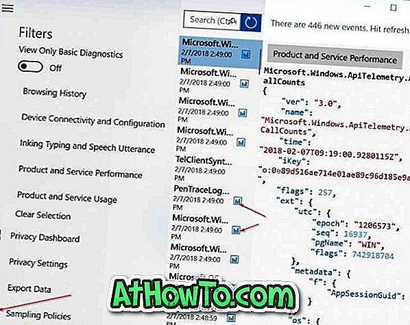 """Patikrinkite, ar """"Microsoft"""" renka diagnostikos duomenis iš """"Windows 10 PC"""""""