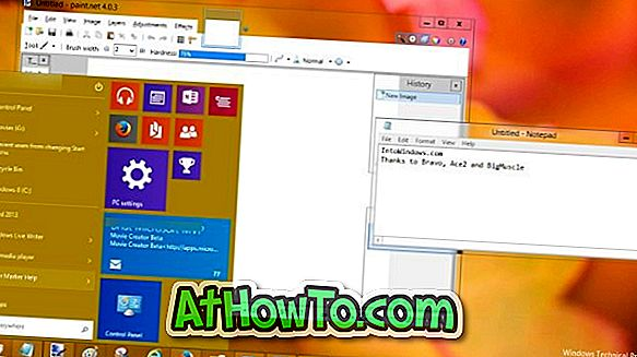 Holen Sie sich Aero Glass In Windows 10 jetzt