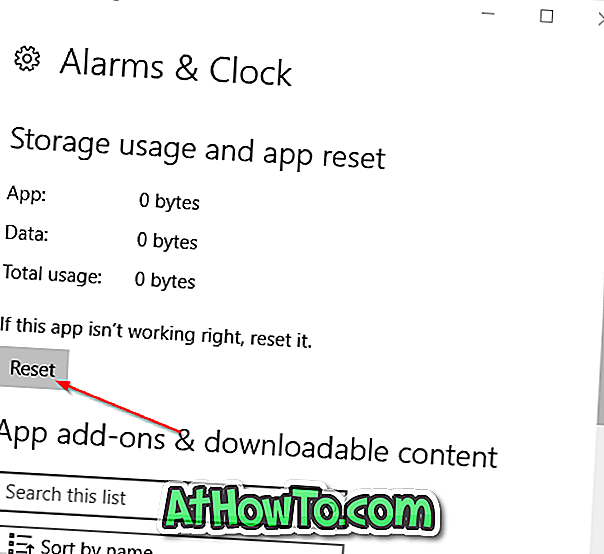 Sådan Reset Windows 10 Apps