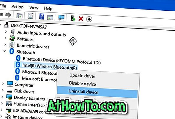 Come disinstallare o reinstallare il driver Bluetooth in Windows 10