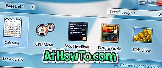 विंडोज 7 में अनइंस्टॉल किए गए डेस्कटॉप गैजेट्स को कैसे रिइंस्टॉल करें
