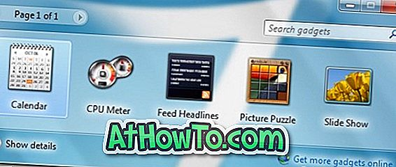Come reinstallare i gadget desktop disinstallati in Windows 7