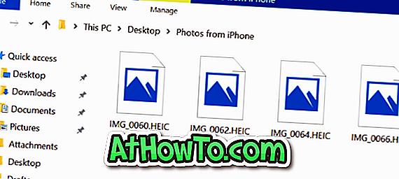 Отворете и вижте HEIC снимки в Windows 7 и Windows 8 / 8.1