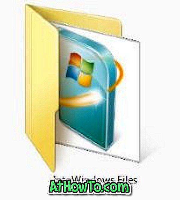 Kuidas hõlpsasti lisada / muuta kausta pilti Windows 7-s