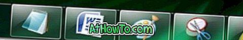 Come nascondere / mostrare la barra delle applicazioni di Windows 7 con una scorciatoia da tastiera