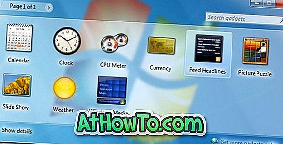 Добави минимизиране и възстановяване на функции за Windows 7 Gadgets (трябва да опитате)