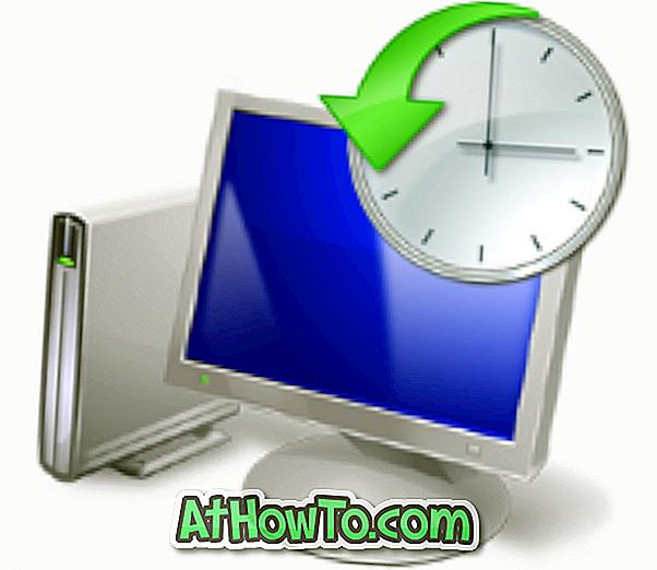 Jak povolit funkci Obnovení systému ve Windows 7. \ T