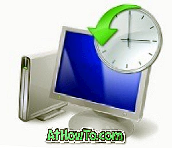 Come creare un punto di ripristino del sistema manuale in Windows 7
