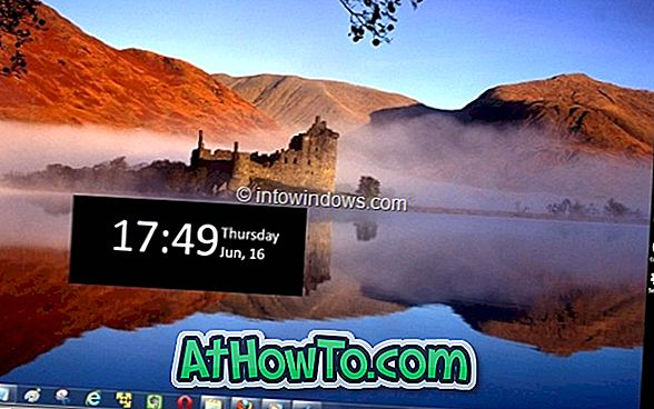 Windows 8 Menu:Windows 7の新しいWindows 8サイドメニューとスワイプ可能なロック画面機能の入手