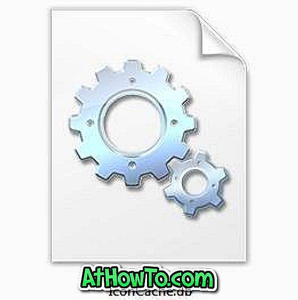 Ako obnoviť ikonu Cache vo Windows 7 na opravu ikon
