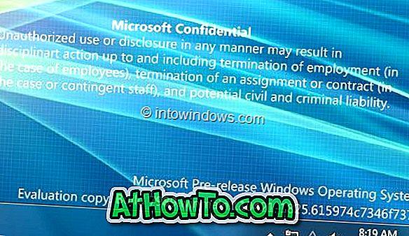 Holen Sie sich Windows 8 Build 7989 Watermark auf Ihrem Windows 7-Desktop