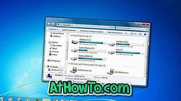 Включете Aero Glass Off автоматично при включване на батерията в Windows 7