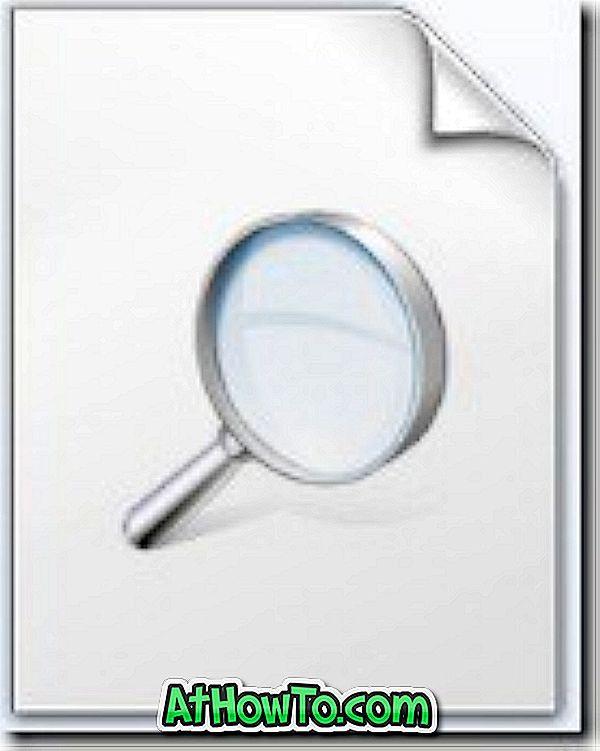 Kuidas luua otsinguühendust mis tahes saidi jaoks Windows 7-s