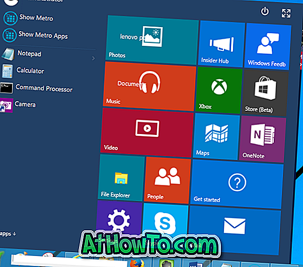Download Opdateret Windows 10 Start Menu til Windows 8.1 og Windows 7