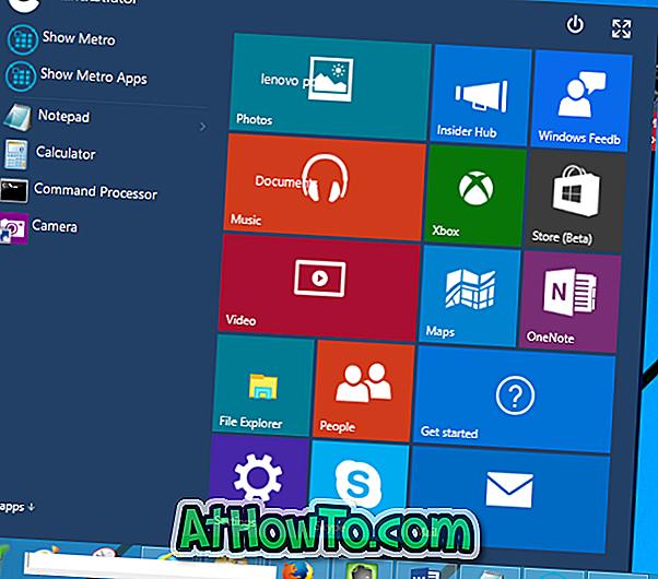 Laden Sie das aktualisierte Windows 10-Startmenü für Windows 8.1 und Windows 7 herunter